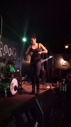 Nikki Hill on stage at the Rhythm Room Phoenix Arizona