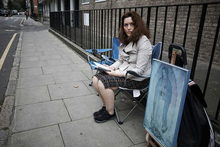 Londonstreets Streetphoto LONDON❤ Fitzrovialitter Religious Fanatic Marie Stopes