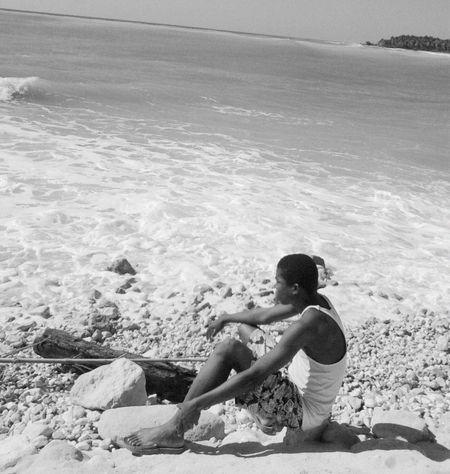 Au bord de l'eau Black & White First Eyeem Photo