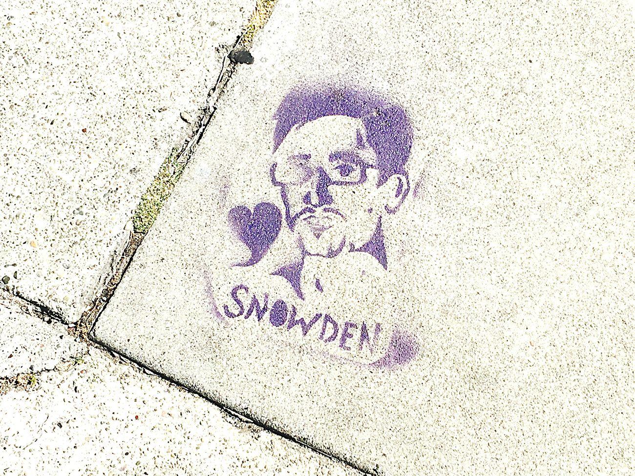 Bit extreme but OK. Snowden