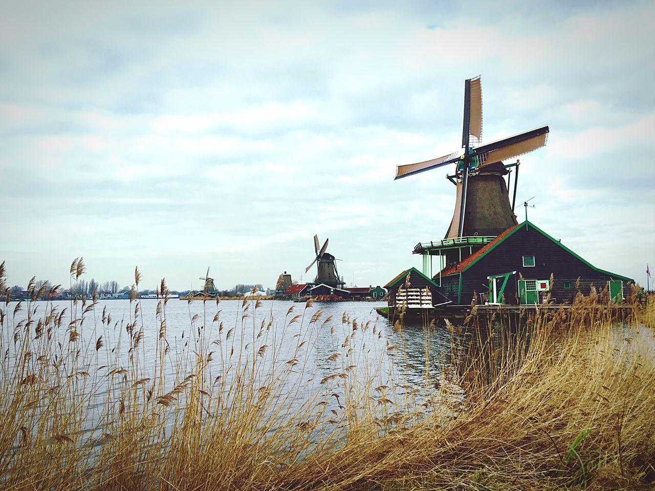 Windmills #photography Amsterdam Dutch EyeEm Best Edits Eyem Best Shots EyeEm Best Shots - Landscape Showcase: February Wintertime Lake View