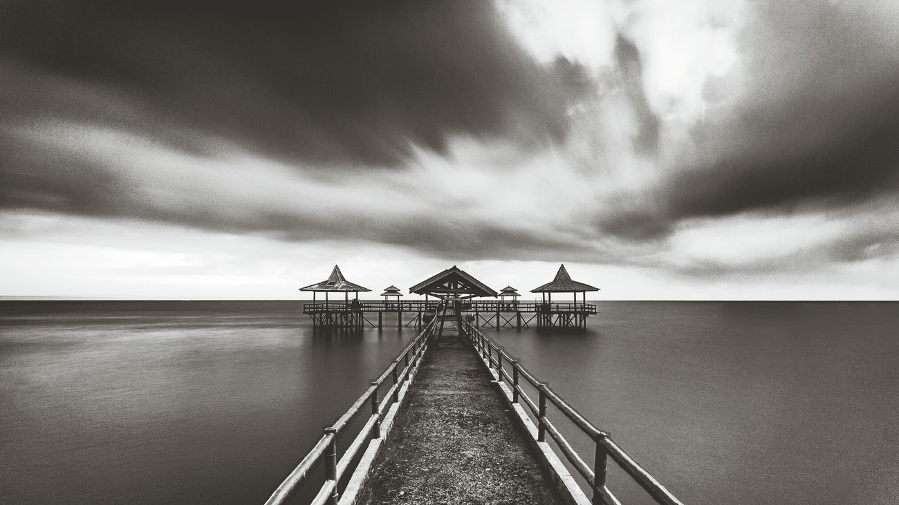 Monochrome Blackandwhite Photography Landscape_photography Kenjeran Beach
