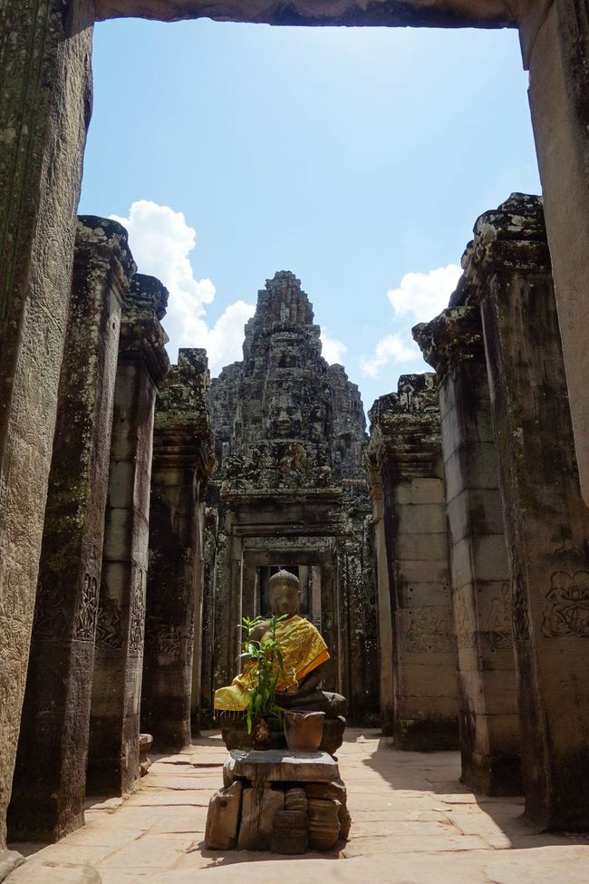 Angkor Thom Angkor Wat Architecture Buddha Ruins Siem Reap Statue Temple Travel