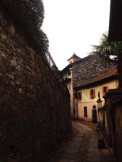 Isola di San Giulio Architecture Built Structure Building Exterior History No People Rustic Outdoors Day
