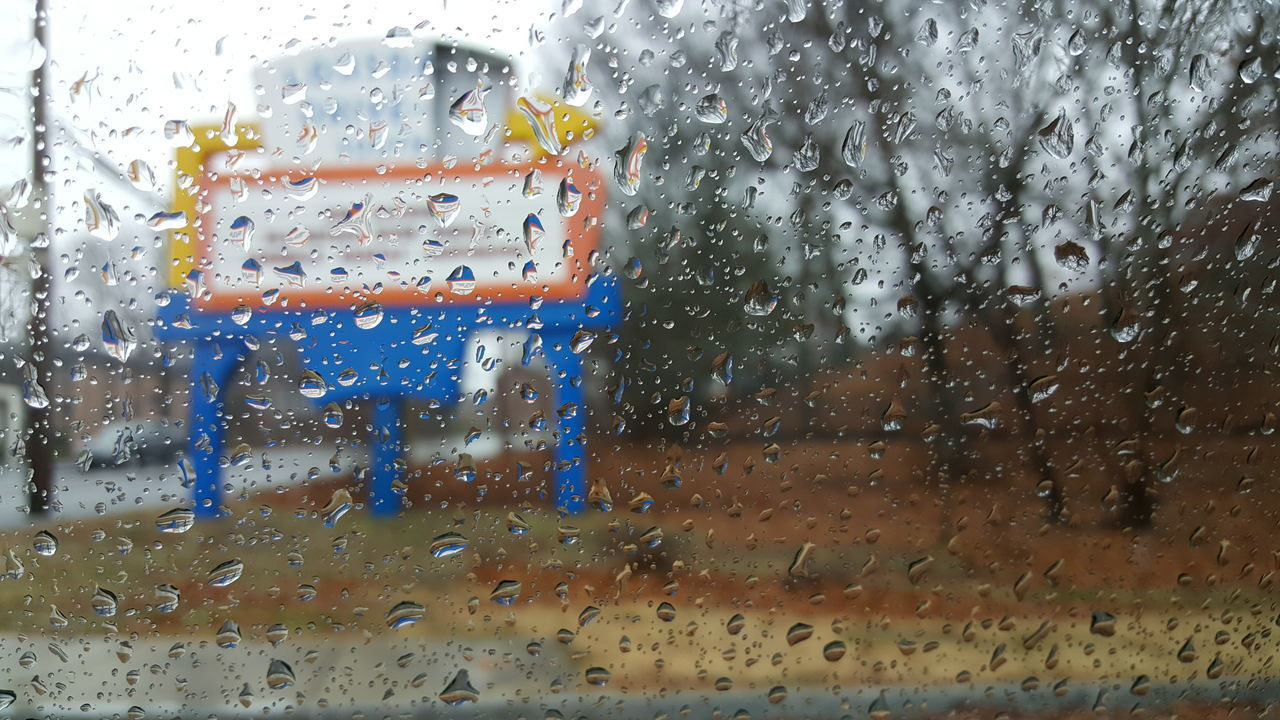 Glass - Material Wet Rain Vehicle Interior Car Transparent Weather Overcast Skies Day Sky Close-up RainDrop Abandoned Places Water Drive-in Theater Focus On Foreground Remote No People EyeEm Best Shots EyeEm Gallery EyeEm Rhode Island Photography⚓