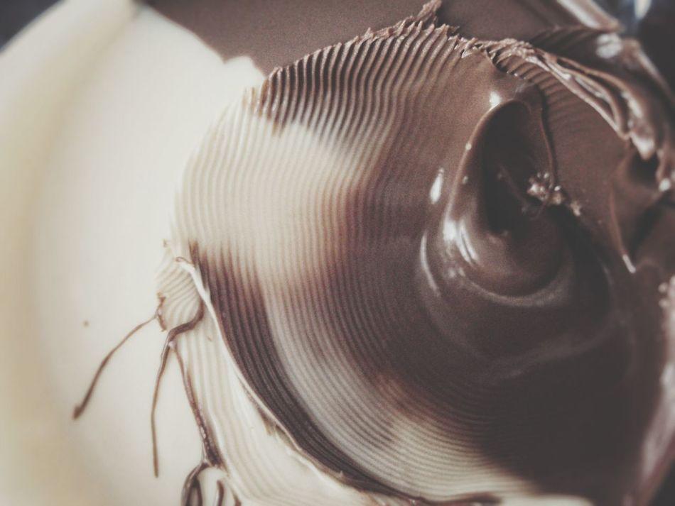 Nougat Creme Close-up Foodphotography Abstract Close Up Morning Moment