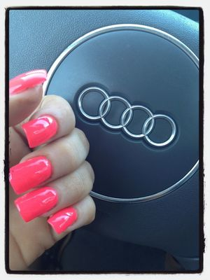 Orange at Velvet Nails by GenevieveMarie