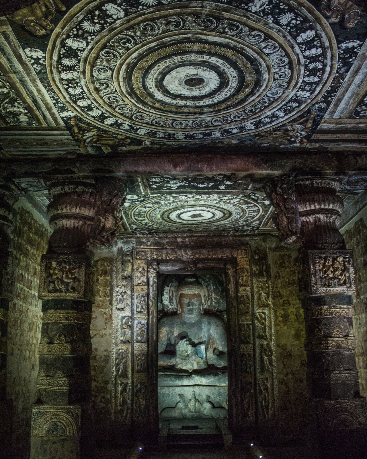 Hypnotizingly tranquil Built Structure Architecture History Ancient Civilization Dramatic Competition Travel Ajanta Ajantacaves Wanderlust Buddha Buddhist Temple Buddhism India Indian Indianstories Cave Caves