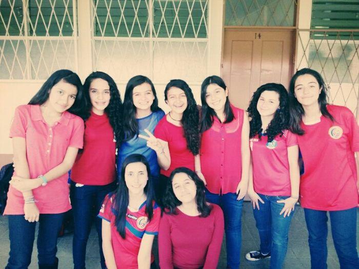 La Seleccion de los Ticos ♥ TODOS con La Roja I Love You ❤