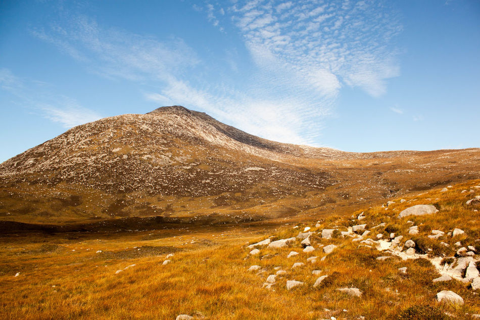 Beauty In Nature Cloud - Sky Day Goatfell  Isle Of Arran  Landscape Mountain Mountain Range Nature No People Outdoors Physical Geography Scenics Sky Tranquil Scene Tranquility Travel Destinations EyeEmNewHere