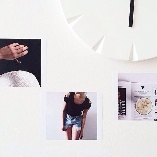 Vielen Dank liebe @mlnlmal für das Foto von deiner Flexiphoto Collage ! Wir bei Clixxie haben uns sofort in deine Wanduhr verliebt und finden die flexis passen perfekt dazu. Sieht super aus!!♥