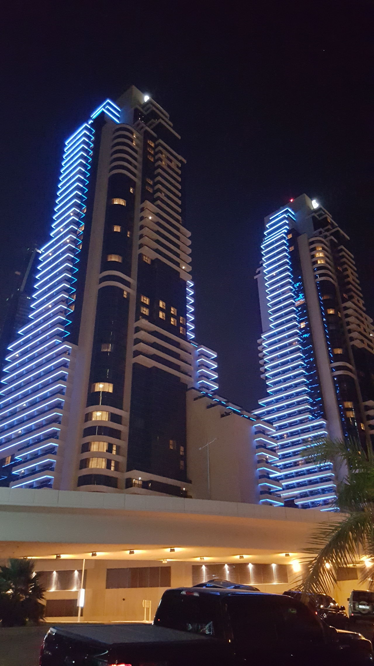 Architecture Building Exterior Buildings Business Finance And Industry City City Life Cityscape Dark Dubai Dubai Marina Financial District  Futuristic Illuminated Low Angle View Modern Night No People Office Building Exterior Outdoors Skyscraper Skyscrapers Street Life Tower Travel Destinations Urban Skyline