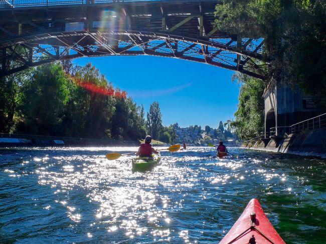 Kayak Montlake Cut Lake Union Seattle Flare Bridge Colour Of Life