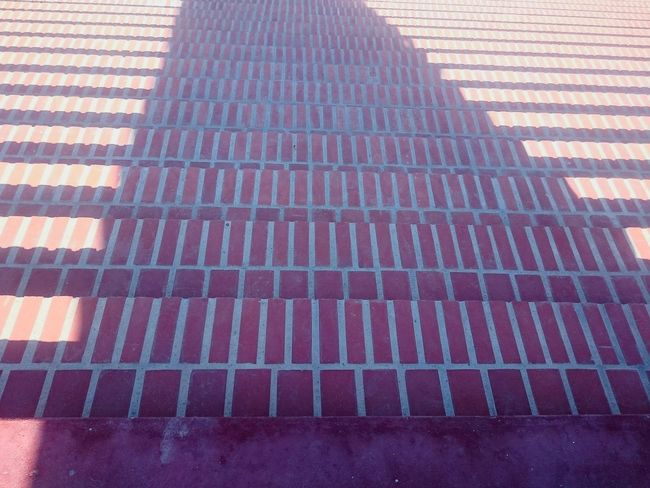 Stairs in Bombarral Peace Garden / Budha Eden Portugal Stairs Bombarral Buddha Eden Peace Garden Garden Red Day Geometric Shape High Angle View Eyeemphoto Ligth Reflected  Shadows