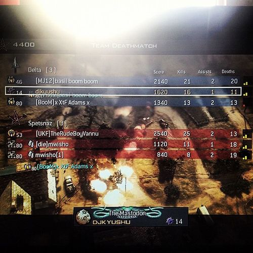 16 for 11 Gamewinning Killcam 3v3 Faceoff stealthbomber callofduty mw3 game gaming xbox sunshine boom instanow instatoday instafeature instagame vortex lofifilter match awesome owning picoftheday