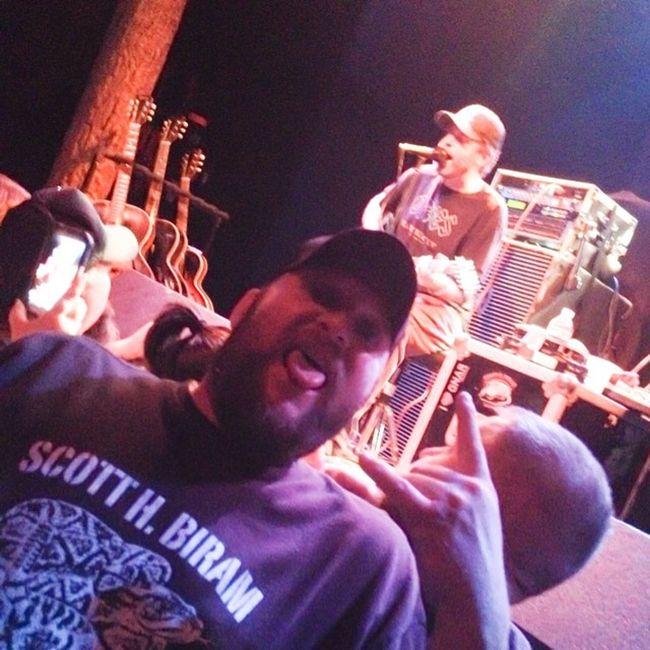 And yea, my little bro at the Scott Biram concert at Trees in Dallas. Haha 😃 Scottbiram Treesdallas Dallas Texas texasmusic