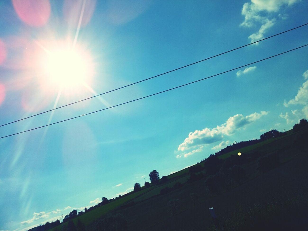 ..für nen tag hat se sich mal wieder rausgetraut die olle Sonne