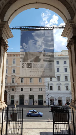 Roma Rome Museum Architecture Travel Destinations Outdoors No People Street Italy Italia Text Hollywood Icons Palazzo Delle Esposizioni The Week On EyeEm
