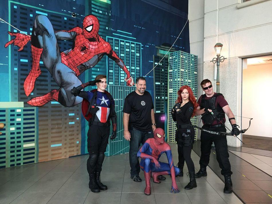 The Avengers minus Thor & Ironman! SUPERHEROES!!! Superheroes EyeEm Best Shots Eyemphotography Octoberfest2016 Holloweenparty😈😈 Holloween2016