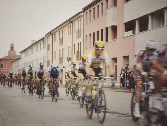 Giro d'Italia around my town | Bicycles Cyclists Getting Inspired The Street Photographer - 2016 EyeEm Awards Giro D'Italia 2016 Castelfranco Veneto EyeEm Italy |