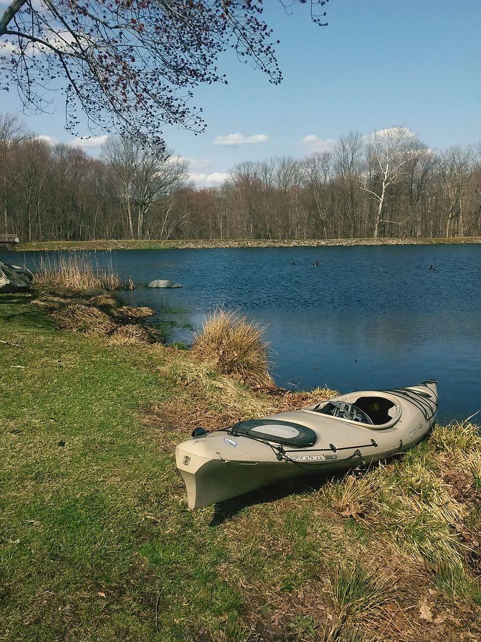 Went Kayaking for the first time Enjoying The View Kayaking Viscocam Open Edit Spring Enjoying Life