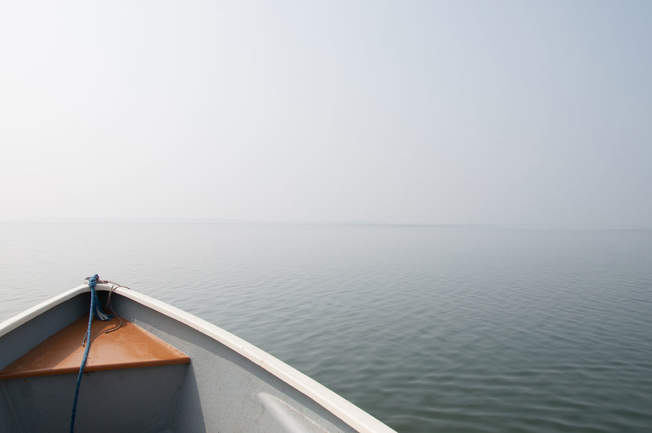 chiemsee boat 2 Beauty In Nature Boat Day Fog Horizon Horizon Over Water Lake Lake View Nature Nautical Vessel No People Outdoors Scenics Sea Sky Tranquil Scene Tranquility Travel Destinations Water Wideness