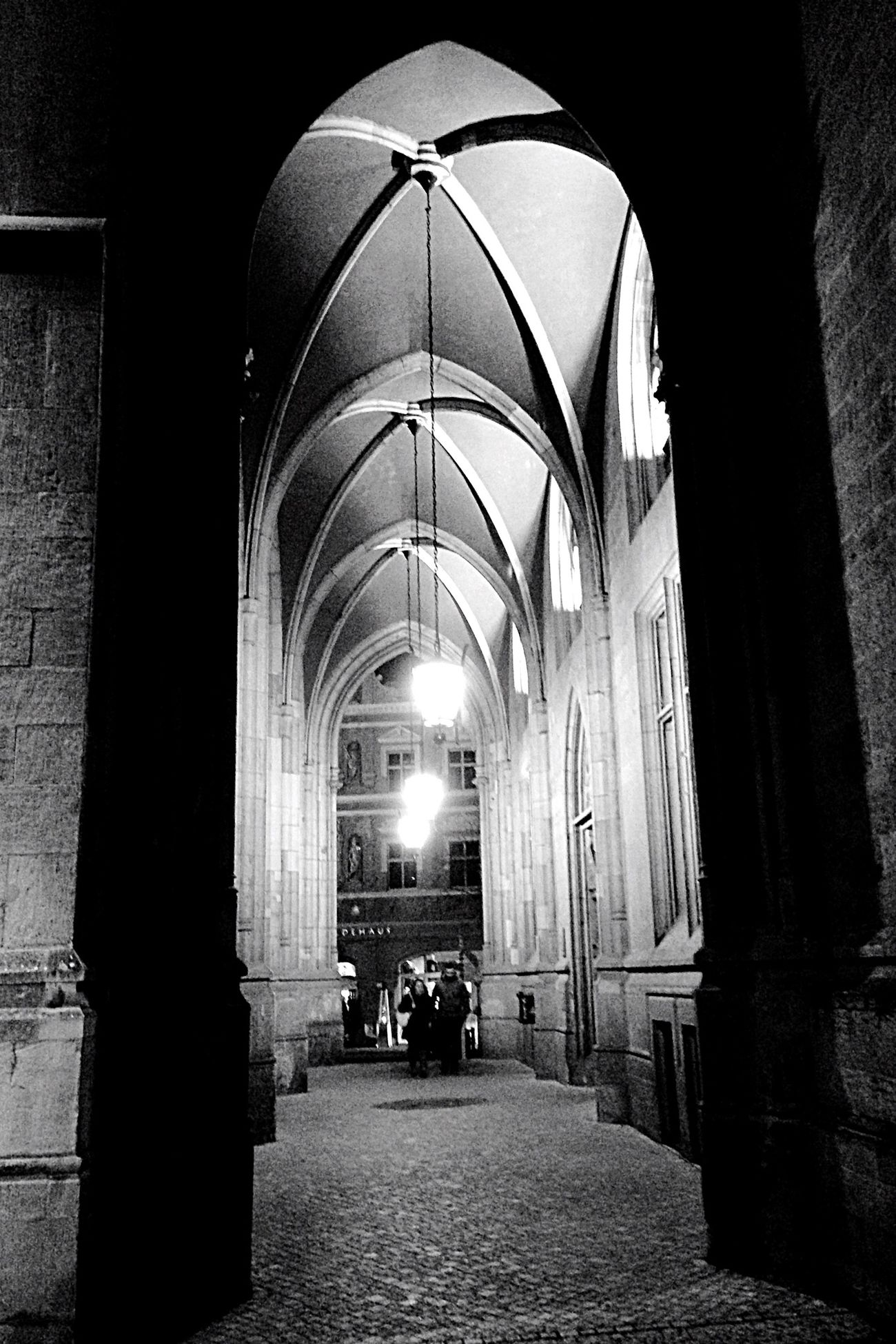 Blackandwhite Erfurt Light And Shadow Darkness And Light Nightphotography Night Lights Walk This Way