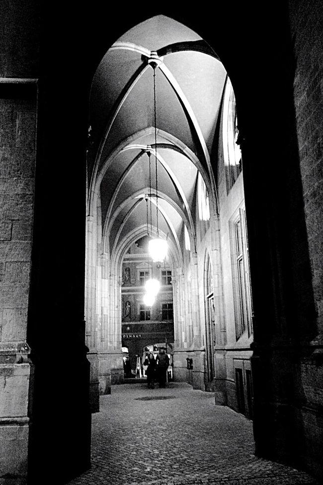 Blackandwhite Erfurt Light And Shadow Darkness And Light Nightphotography Night Lights Walk This Way