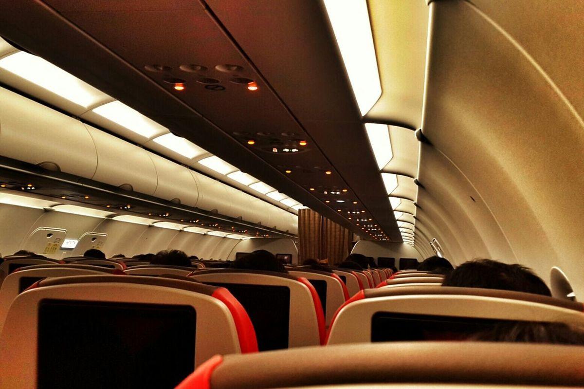 Batik Air Interior Cabin Batik Air Airport Boarding Time Tangerang Jakarta