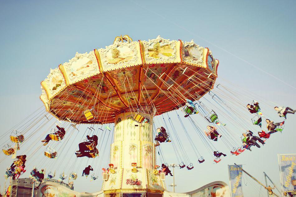 Beautiful stock photos of frankfurt, Amusement Park, Amusement Park Ride, Arts Culture and Entertainment, Blue
