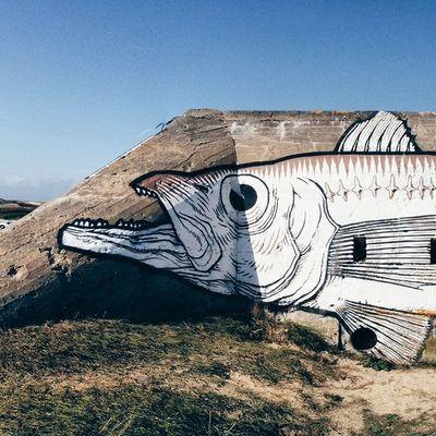 Beach art ! Bretagne