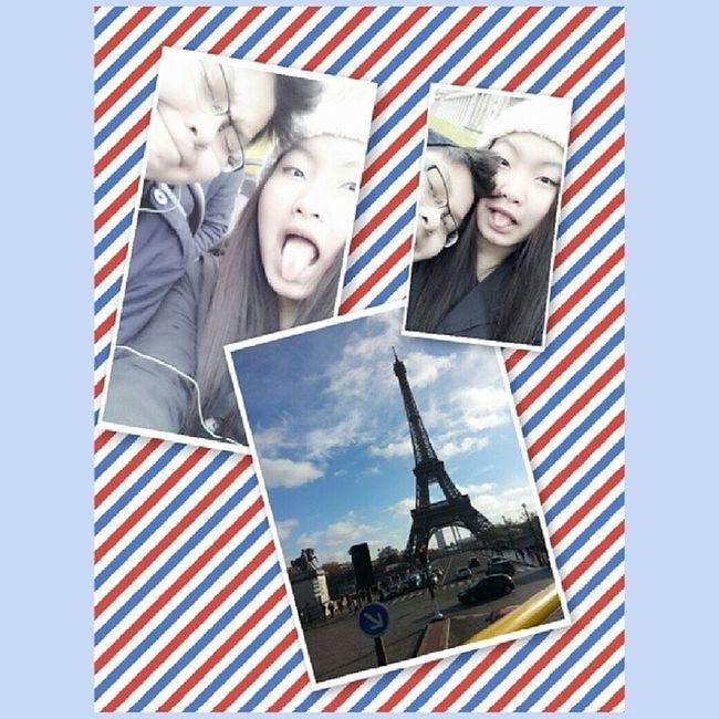 131207 - 셀카 with le brother @roemmeuy in PARIS♡ UYsiblings