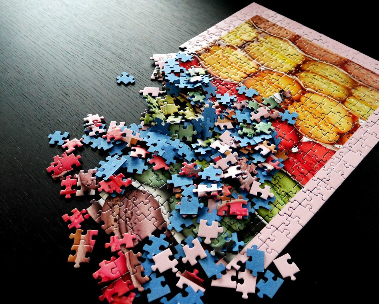 Beautiful stock photos of puzzle, Jigsaw, abundance, collection, colorful