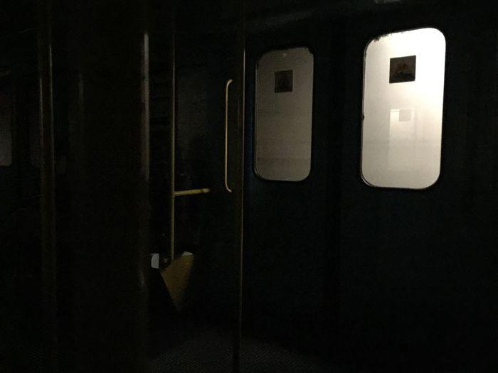 Door Night Indoors  No People Close-up