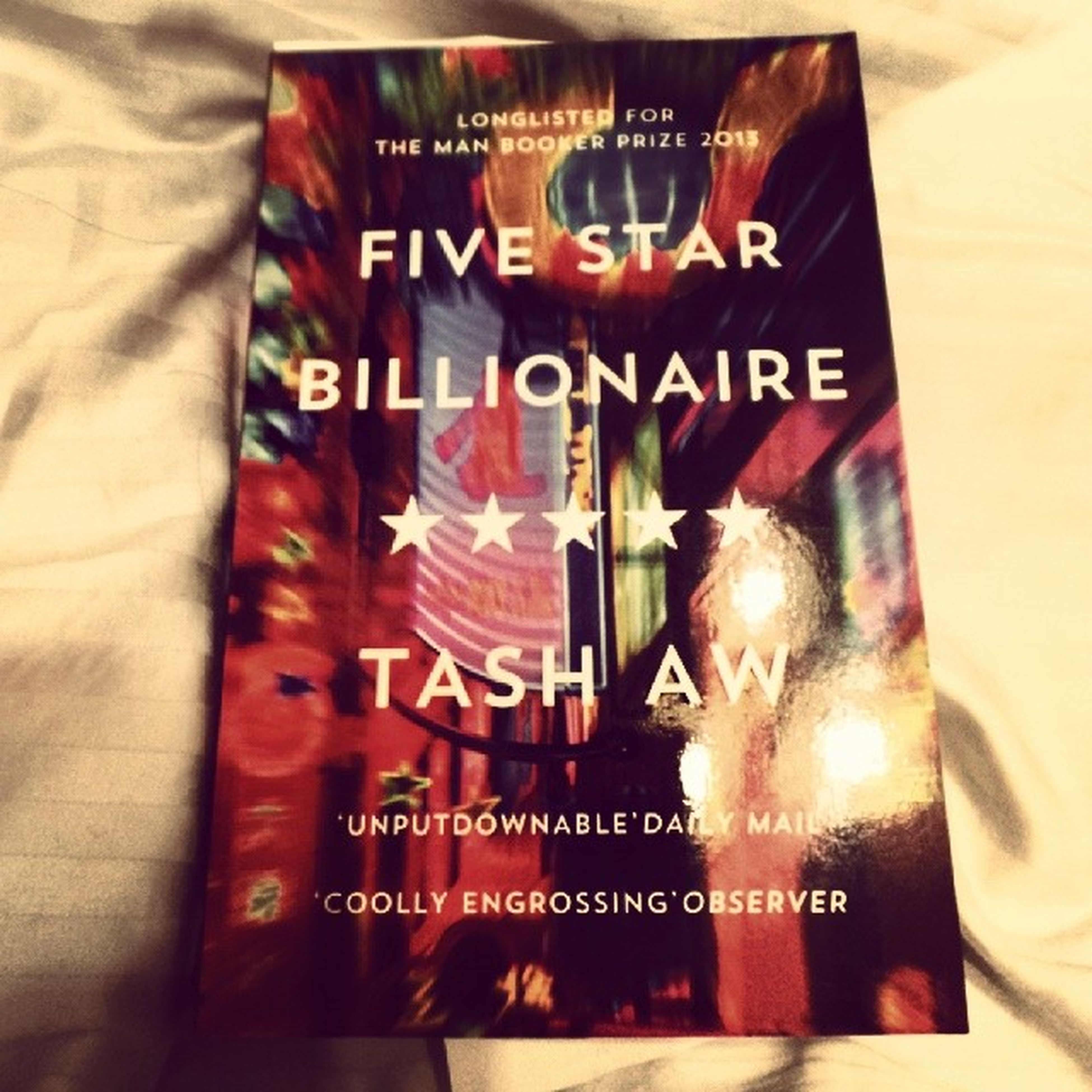 Some reading material for the night. FiveStarBillionaire TashAw Project365 50of365