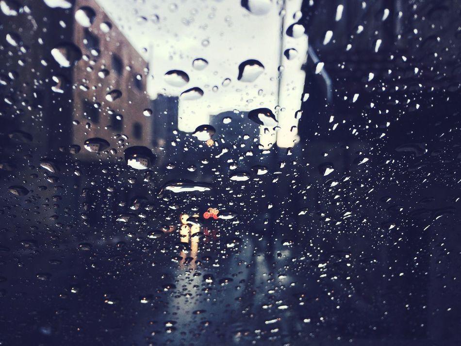 Car Wash Rain Rainy Season First Pour