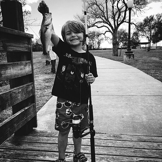 Take Your Kid Fishing Gone Fishing Largemouthbass Bassfishing Freshwater It's An Adventure Life With Monsters Texas Home Chasing Summer