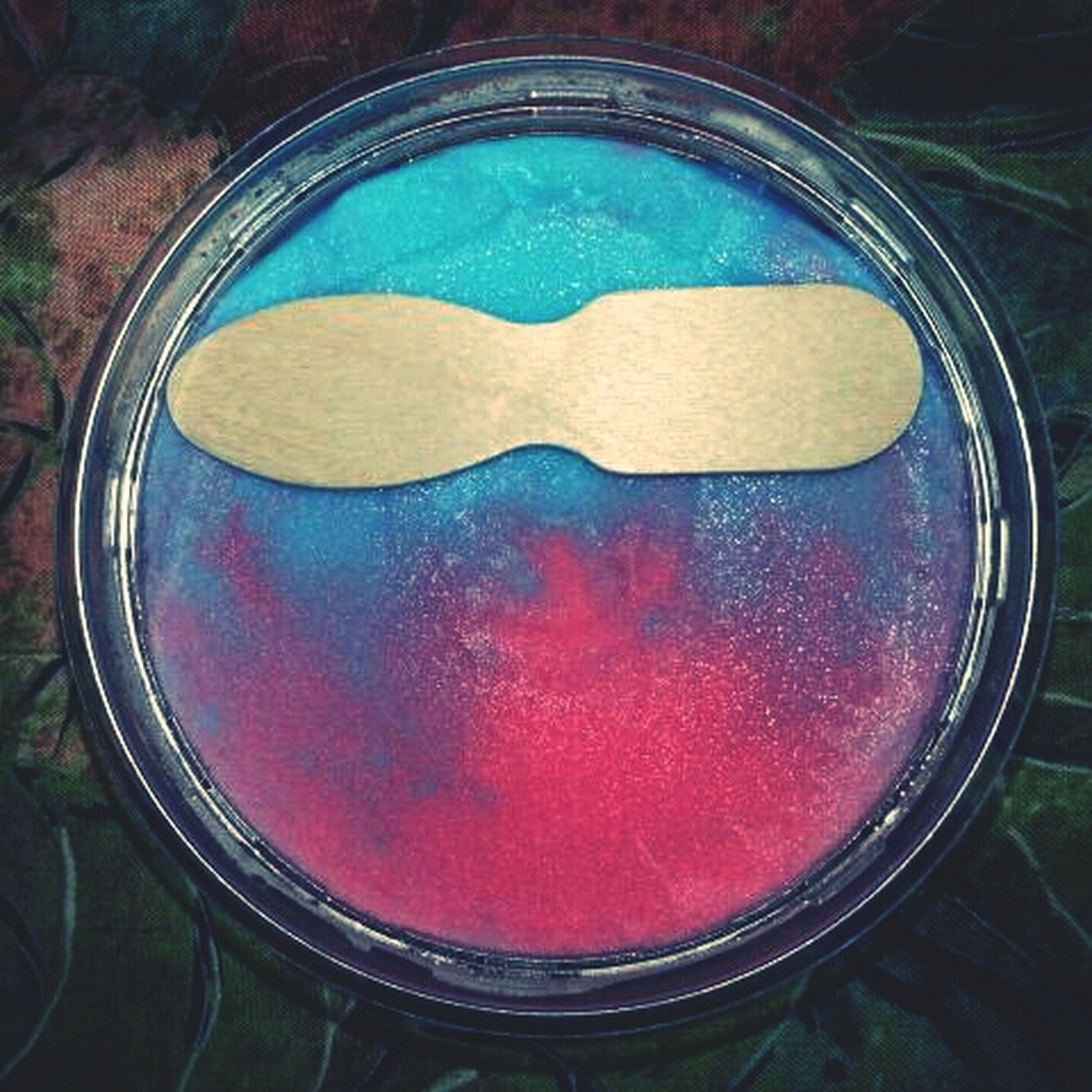 red, close-up, glass - material, circle, transparent, indoors, blue, geometric shape, no people, glass, window, shape, reflection, day, directly above, drop, high angle view, freshness, wet