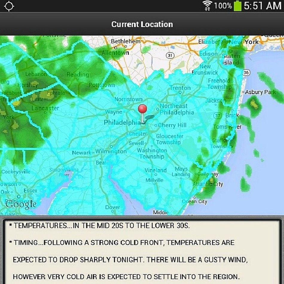 Ugh .. wtf .. yesterday was so gorgeous. StupidWeather Actionnewsphilly Weatheralert 6abcphilly