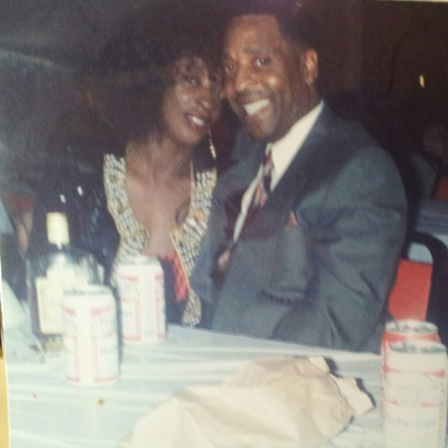 My Mama & Daddy #throwback