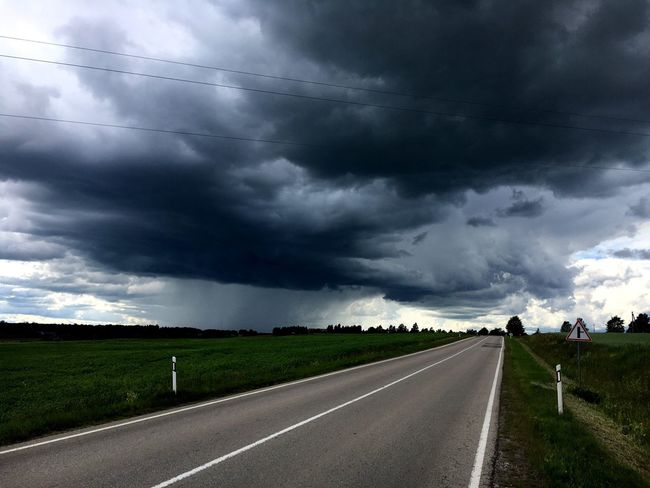 Heavy choice Road Cloud - Sky Sky Storm Cloud Landscape The Way Forward Nature Storm Thunderstorm Transportation Weather Scenics Outdoors Street Day Beauty In Nature Rural Scene Grass Tornado Power In Nature
