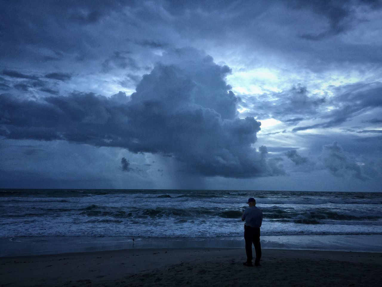 Morning before Hurricane Matthew Hurricane Weather Storm Clouds Melbourne Beach, FL Hurricane Matthew 2016 Horizon Over Water Cloud - Sky Coastline Oceanscape Sunrise And Clouds Cloudy Rain Clouds