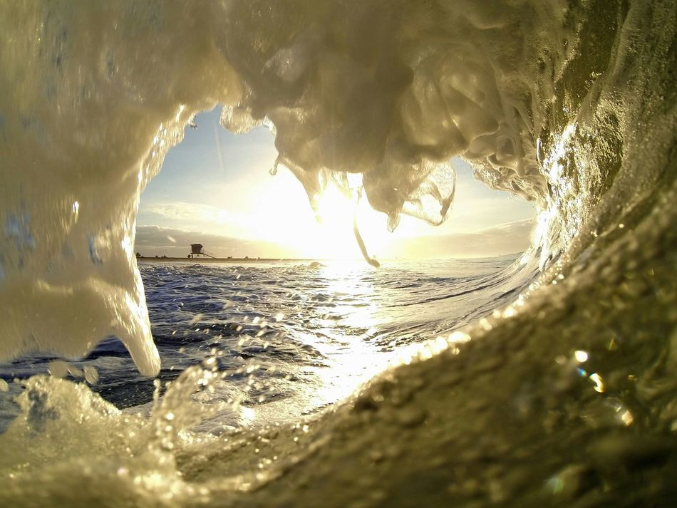10/16/14 Toobsday Barrelsforbreakfast The Pursuit Of Happiness Eat Sleep Surf Surfing Water_collection Surf Photography Yew Sea Foam Sunrise