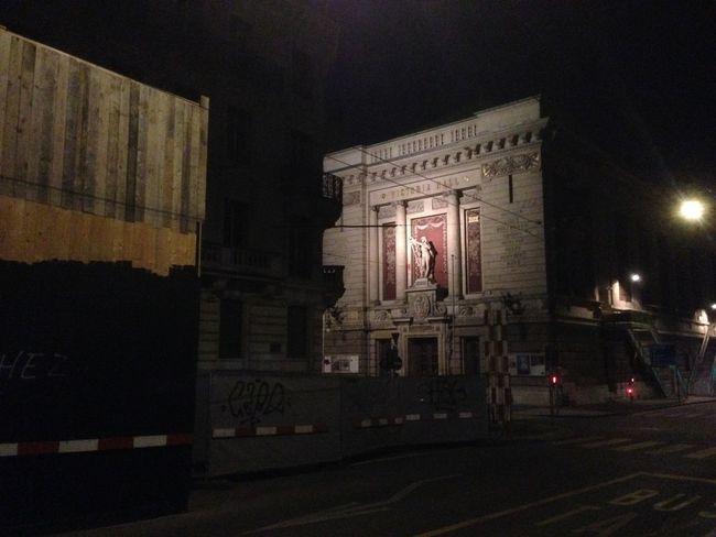 Architectural Column Architecture Built Structure City City Street Dark Illuminated Night No People