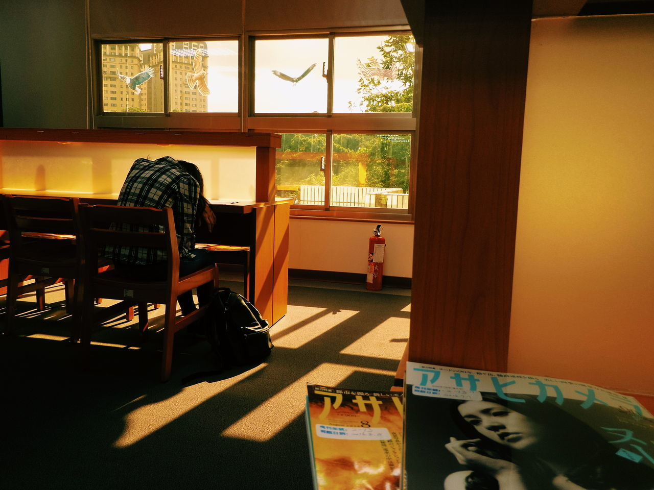 Sleepy Afternoon The Color Of School Window Indoors  Window Chair Desk Table Home Interior Flooring Room Domestic Life Hobbies Interiors Week On Eyeem Xhinmania The Week On EyeEem Vscocam Showcase August EyeEm Taiwan