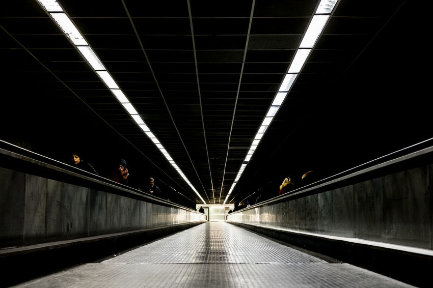 Luci Path Architecture Geometry Illuminated No People Percorso The Way Forward Food Stories
