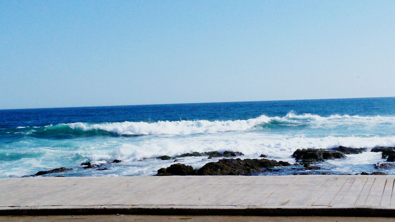 Iquique Chile  Beachphotography Peaceful Quiet Time Waves, Ocean, Nature First Eyeem Photo