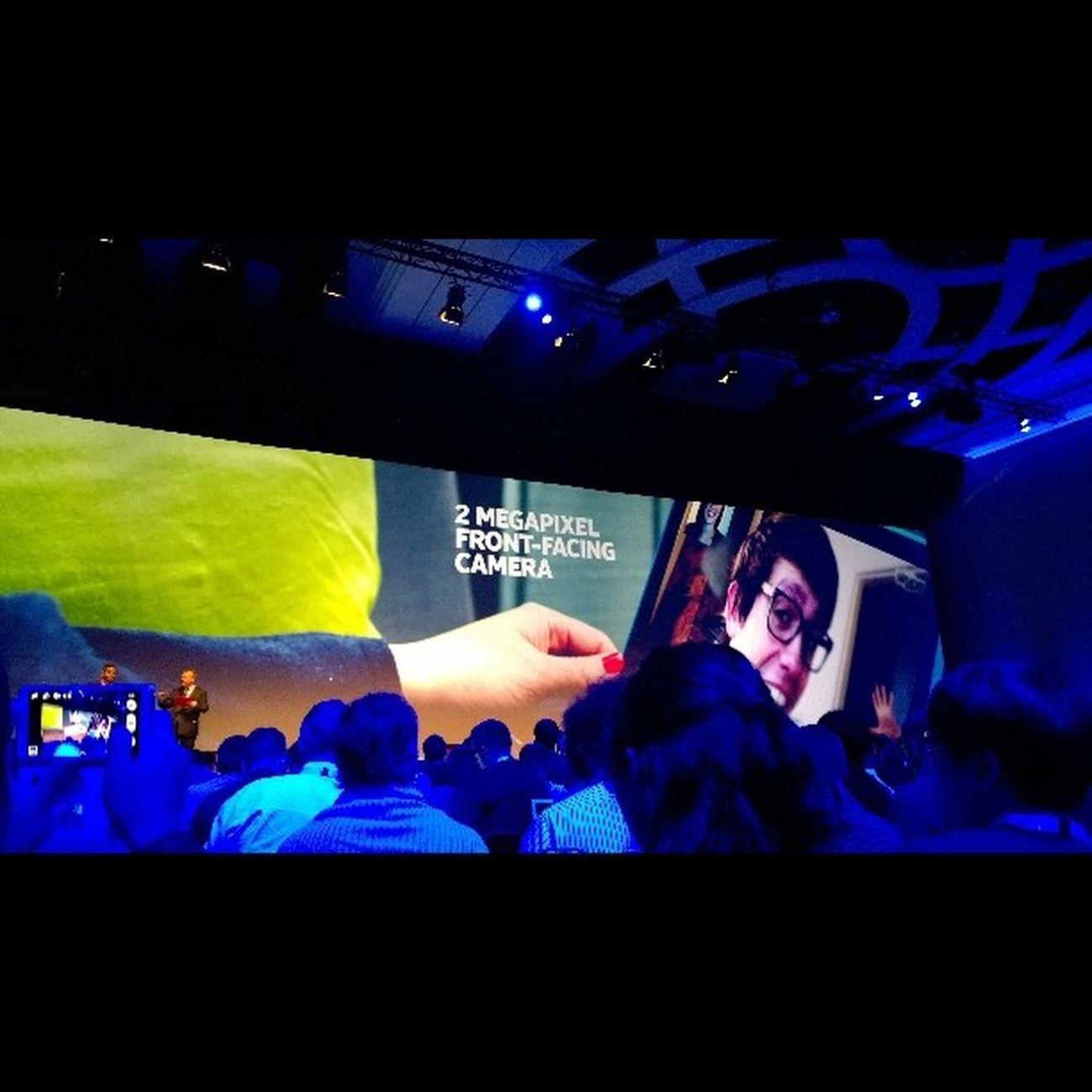 2mpx front camera Nokia  Lumua2520 Nokiaworld Nokiaworldkz