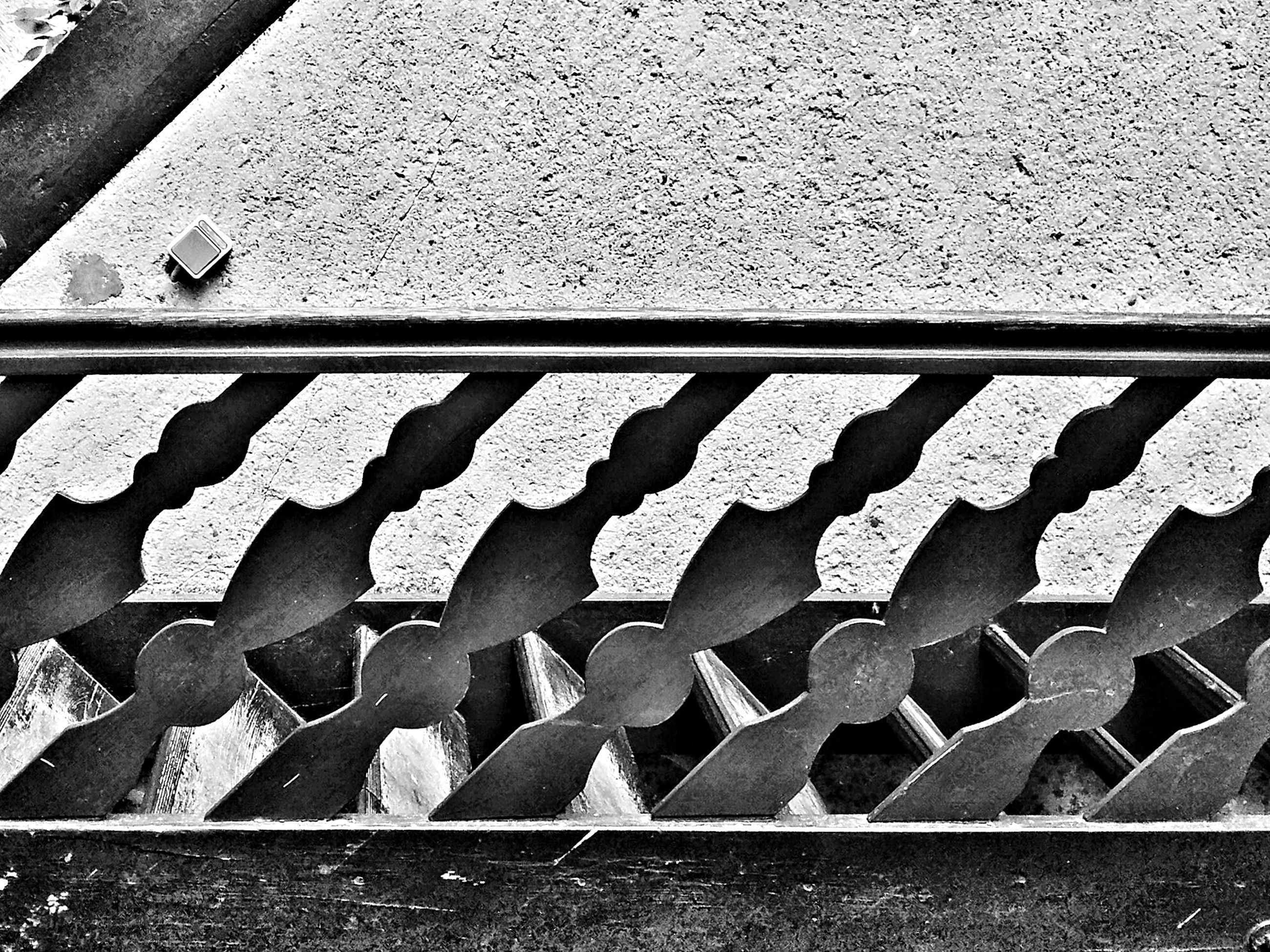 metal, day, no people, outdoors, large group of objects, sunlight, close-up, metal industry