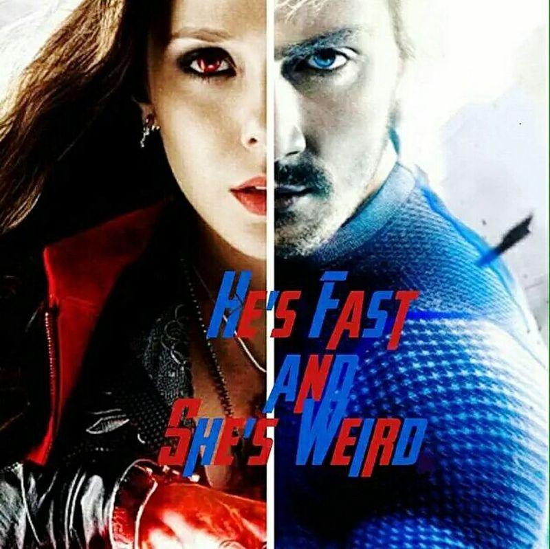 Marvel Quicksilver ScarletWitch Avengersageofultron Avengers2 Aarontaylorjohnson